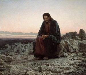 Cristo no deserto