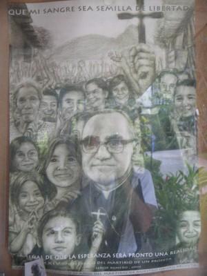 Oscar Romero - Cartaz na UCA
